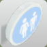 Male-Female Toilet Sign - Small icon