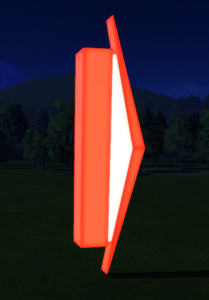 Misc Sign 20 at night
