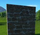 Sandstone Wall 4m