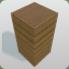 Wood Column Half Height icon