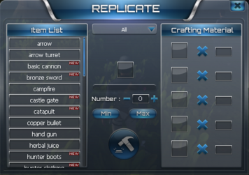 Replicate Menu