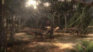 CarcharodontosaurusTerritoryForest