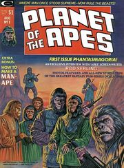 Planet of the Apes Magazine 1