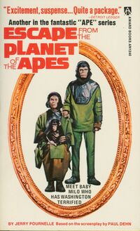 Escape from the Planet of the Apes Novelization