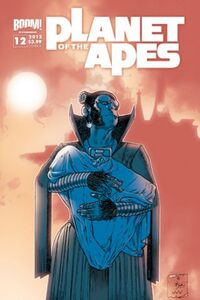 Planet of the Apes 12 Page 01