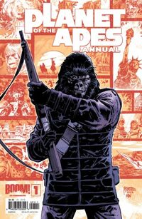 Planet of the Apes Annual Page 01