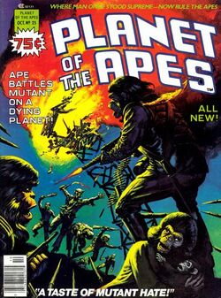 Planet of the Apes Magazine 25