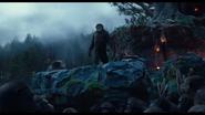 Caesar in Ape Village