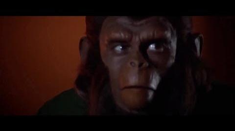 """Conquest of the Planet of the Apes (1972) Caesar's speech """"Where there is fire"""" part 3 5"""