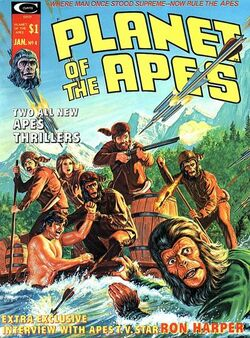 Planet of the Apes Magazine 4