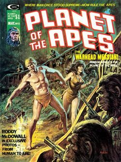 Planet of the Apes Magazine 8