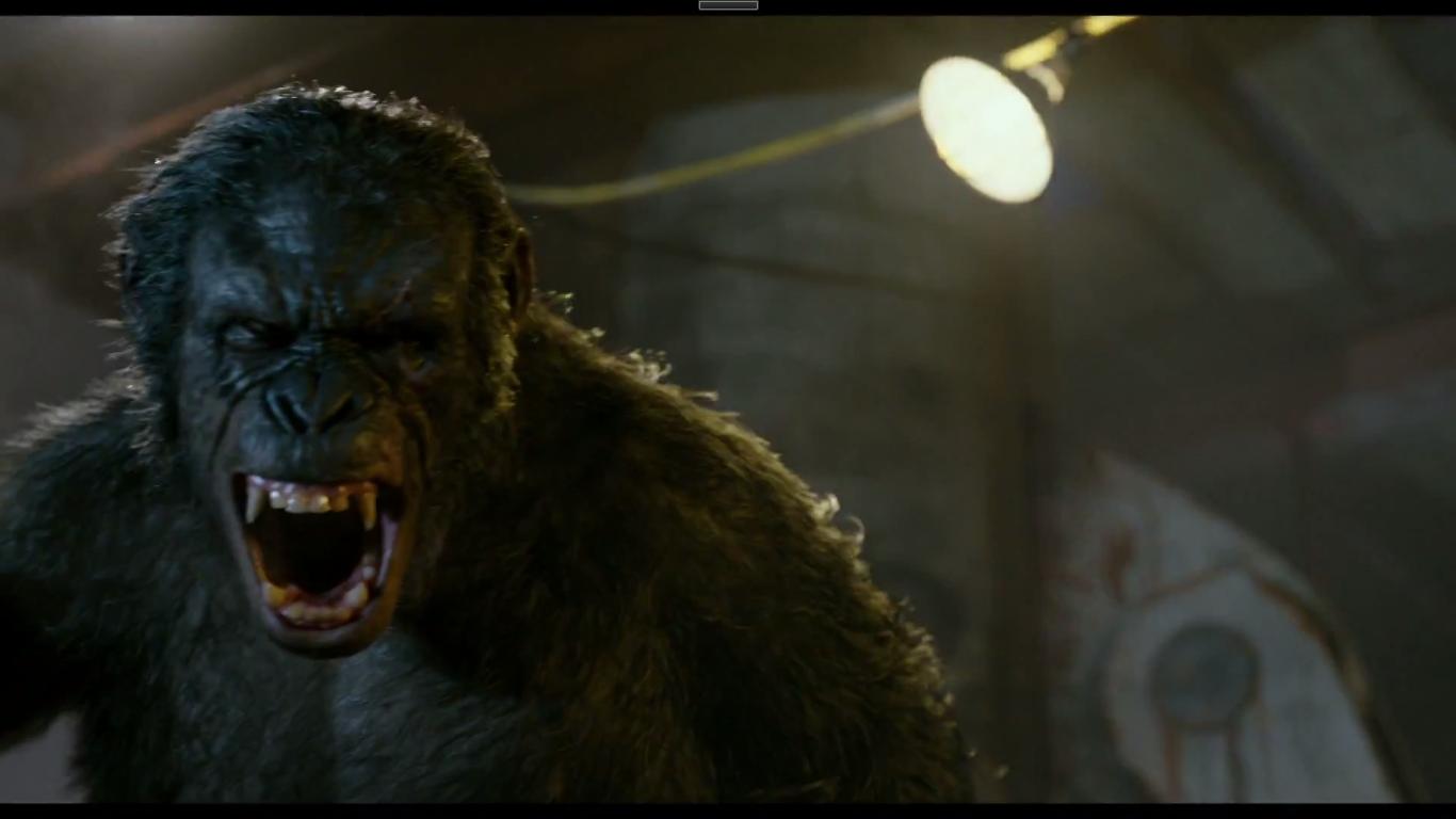 Image - Koba snarls at Caesar.png | Planet of the Apes ...