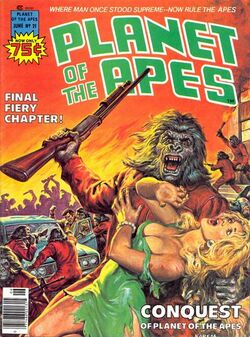 Planet of the Apes Magazine 21
