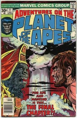 Adventures on the Planet of the Apes 11