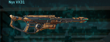Indar canyons v1 scout rifle nyx vx31