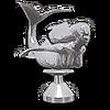 Chrome Mermaid Hood Ornament