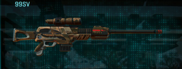 Indar rock sniper rifle 99sv