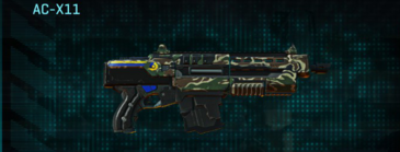 Scrub forest carbine ac-x11