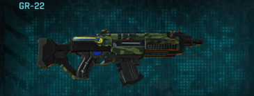 Amerish forest assault rifle gr-22
