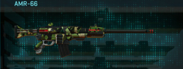 Jungle forest battle rifle amr-66