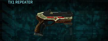 Palm pistol tx1 repeater