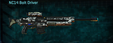 Forest greyscale sniper rifle nc14 bolt driver