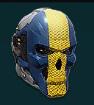NC Inf Helm RebelSkull
