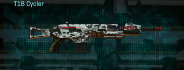 Forest greyscale assault rifle t1b cycler