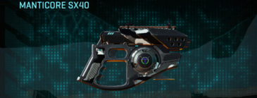 Indar dry brush pistol manticore sx40