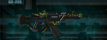 Jungle forest lmg gd-22s