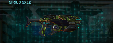 Jungle forest smg sirius sx12