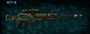 Amerish grassland sniper rifle m77-b