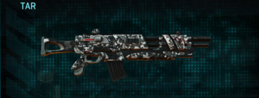 Snow aspen forest assault rifle tar