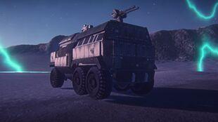 TR Sunderer Blockade Armor (Back)
