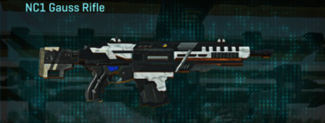 Esamir snow assault rifle nc1 gauss rifle