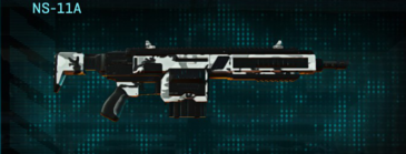 Forest greyscale assault rifle ns-11a