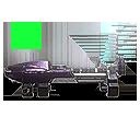 Icon weaponAttachment vs redDotSight02 triangleFramed001
