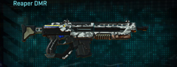 Forest greyscale assault rifle reaper dmr