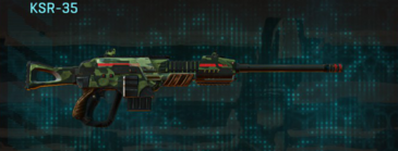 Amerish forest sniper rifle ksr-35