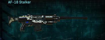 Forest greyscale scout rifle af-18 stalker
