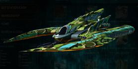 Jungle forest scythe