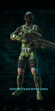 Nc amerish forest infiltrator