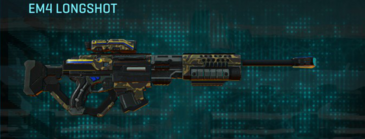 Indar highlands v1 sniper rifle em4 longshot