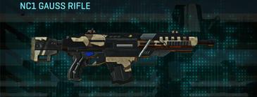 Indar scrub assault rifle nc1 gauss rifle