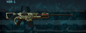 Pine forest scout rifle hsr-1