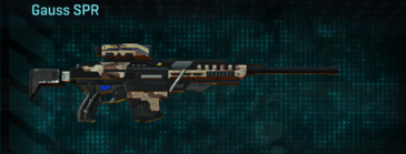 Desert scrub v2 sniper rifle gauss spr