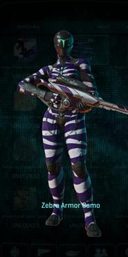 Vs zebra infiltrator