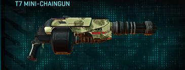 Palm heavy gun t7 mini-chaingun