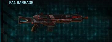 Tr digital shotgun fa1 barrage