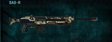 Desert scrub v1 sniper rifle sas-r